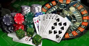 casino cards roulette chips